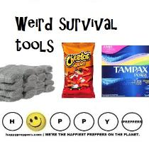Weird survival tools