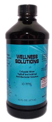Wellness solutions colloidal silver