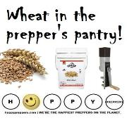 Wheat in the Prepper's Pantry