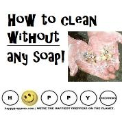 How to clean without any soap