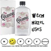 Witch hazel uses
