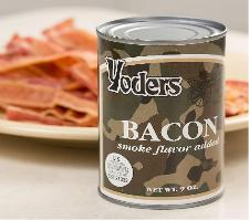 Bacon in a can by Yoders