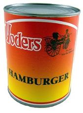 Case of canned hamburger