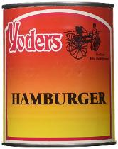 Yoder's canned hamburger