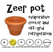 Zeer Pot Refrigeration
