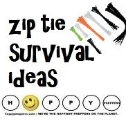 Zip tie survival ideas