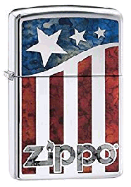 Zippo Three-star American Flag lighter